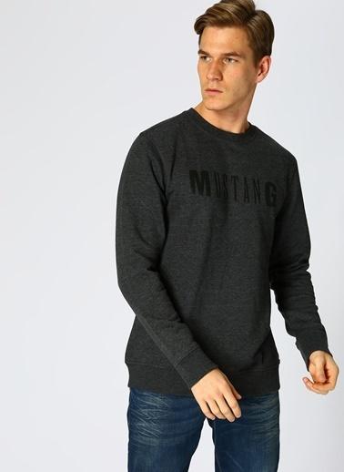 Mustang Sweatshirt Siyah